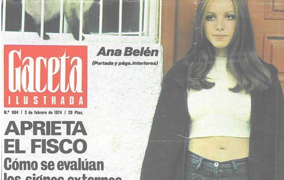 Gaceta-Ilustrada_Portada-Ana_Feb.-74